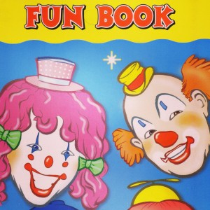 Tickles and Family Clown Coloring book