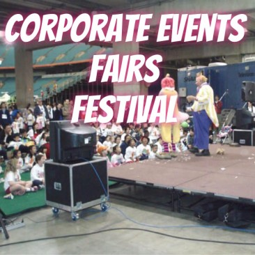 Corporate Events, Fairs, Festivals