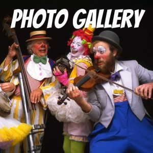 Tickles and Family Photo Gallery  - Clowns Victoria BC Canada, Vancouver